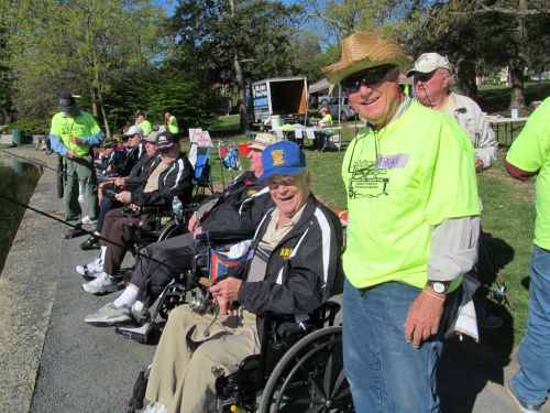Doylestown Fishing Derby Volunteers and Participants in big hearted Bucks County